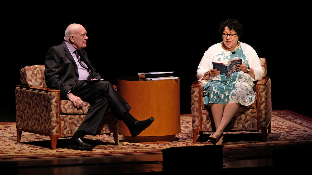 Supreme Court Justice Sonia Sotomayor offers lessons from her life to sold-out Touhill audience