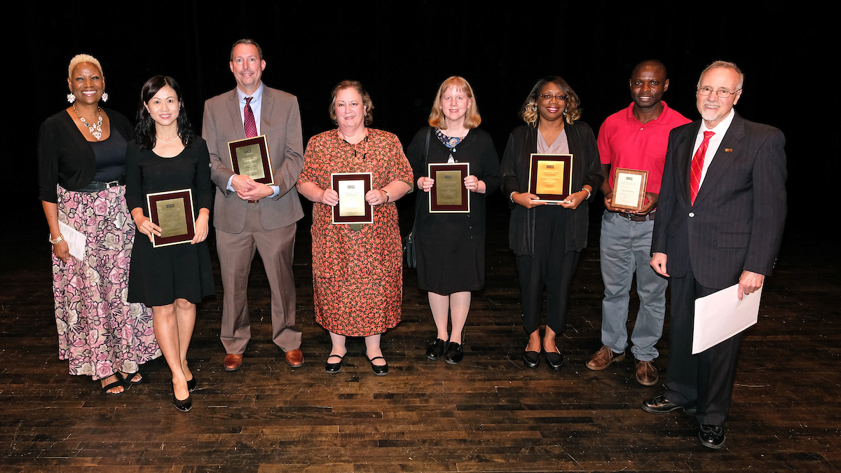 Chancellor recognizes outstanding faculty, staff for their varied contributions to UMSL