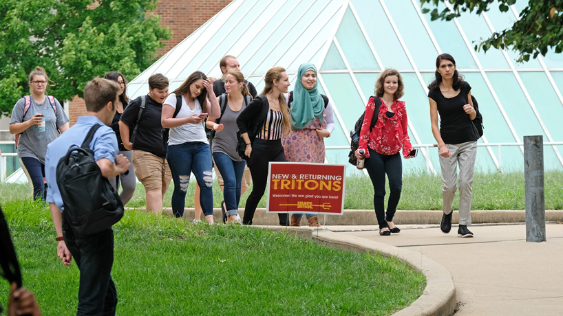 US News & World Report grades UMSL as a great place for good students
