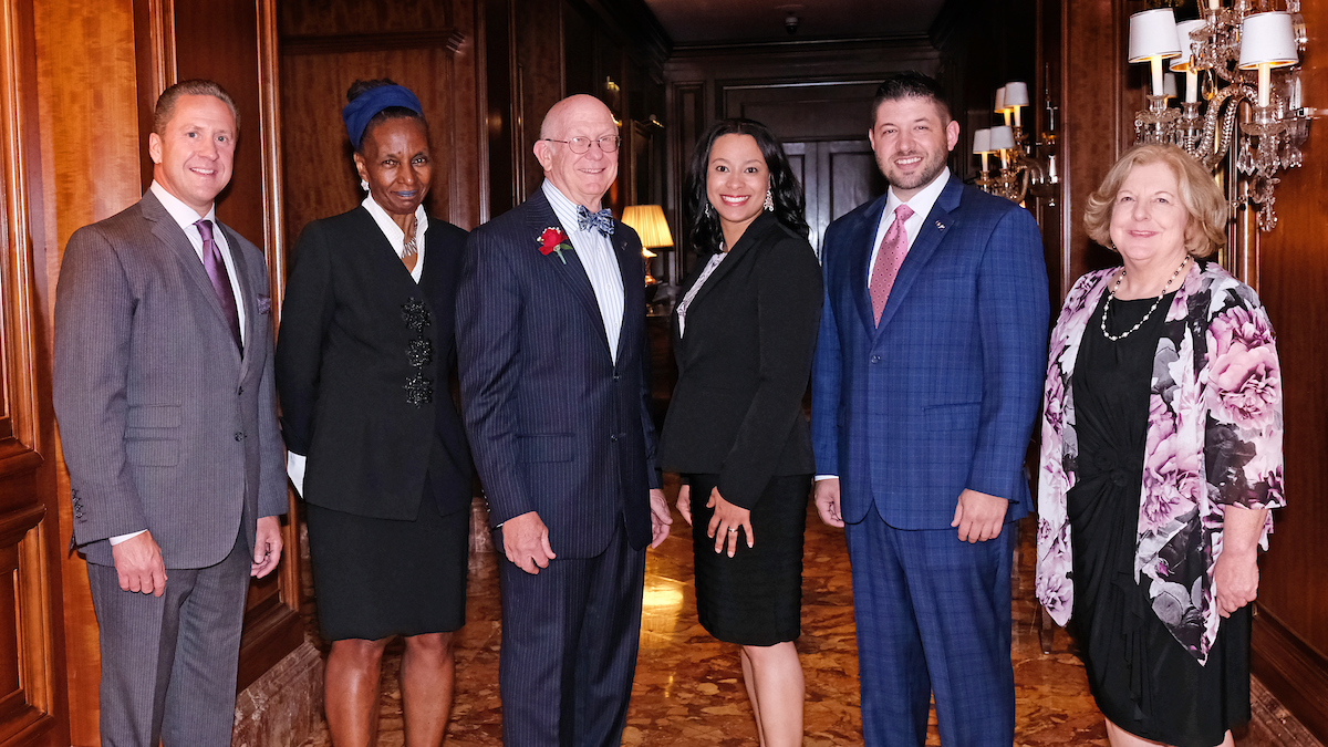 UMSL honors six distinguished alumni at Founders Dinner