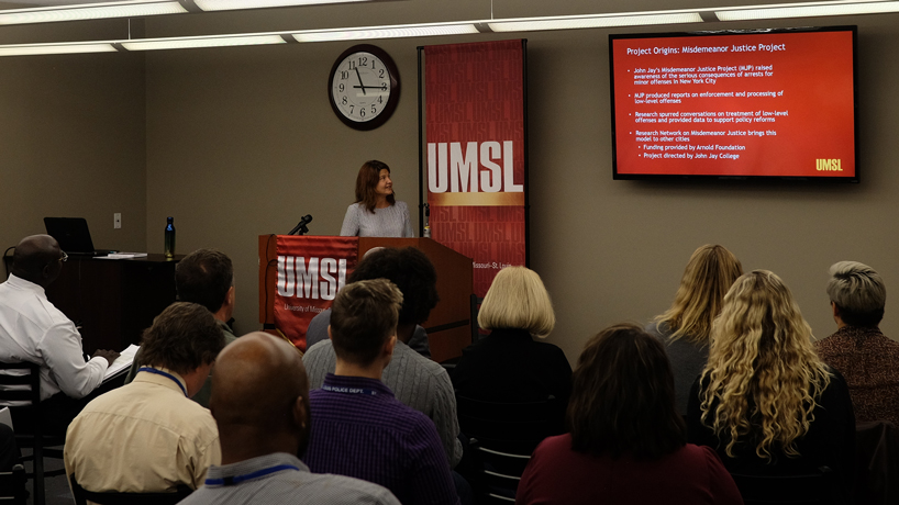 Crime enforcement rates in St. Louis have fallen since 2002, according to new research from UMSL criminologists