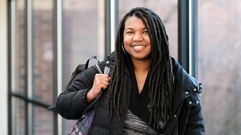 Amber Ingram, engineering student
