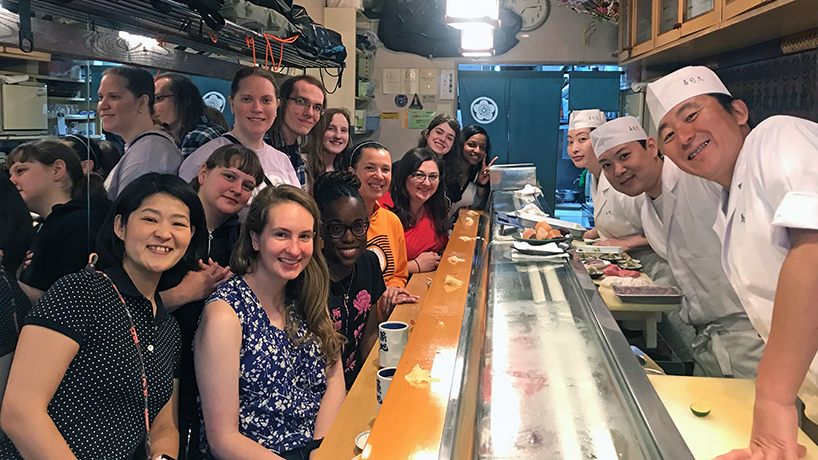 UMSL students dip their toes into international travel with faculty-led trips