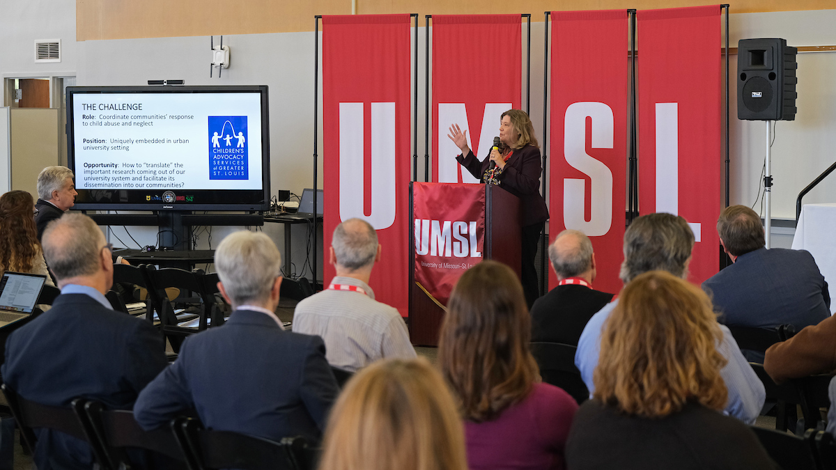 UMSL-hosted summit highlights researchers working to combat some of society's biggest challenges
