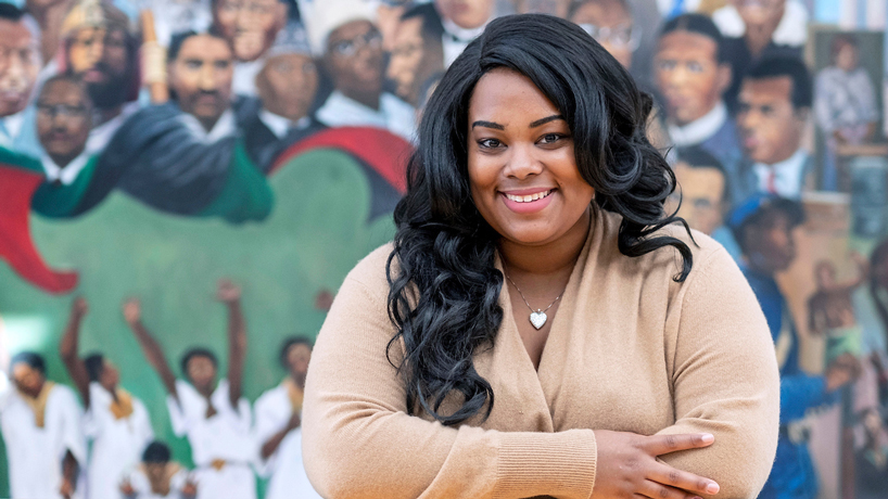 Congressional Black Caucus Foundation intern discovers pull toward civic engagement at UMSL