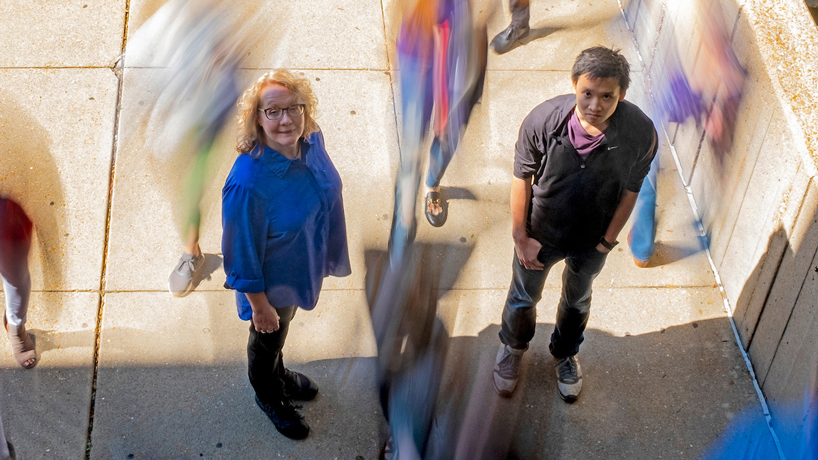 Assistant professor uses high-powered computing to mine genetic sources of Alzheimer's