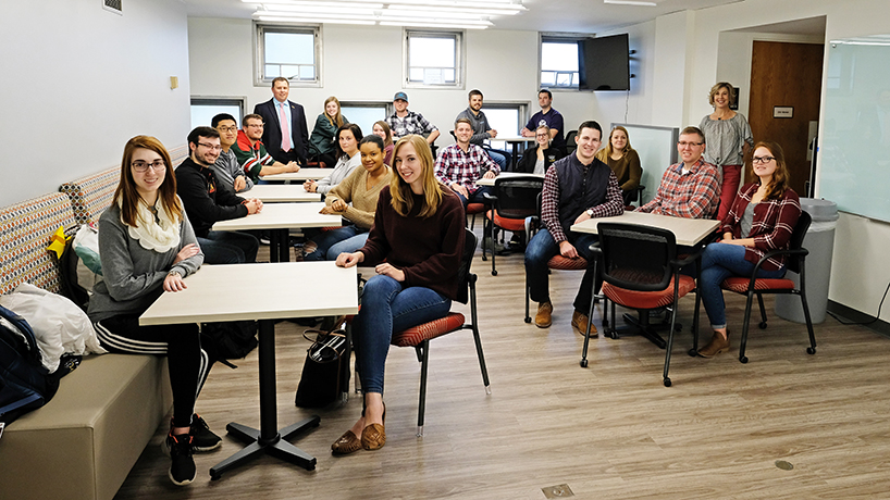 College of Optometry updates Marillac Hall for recruitment, student success