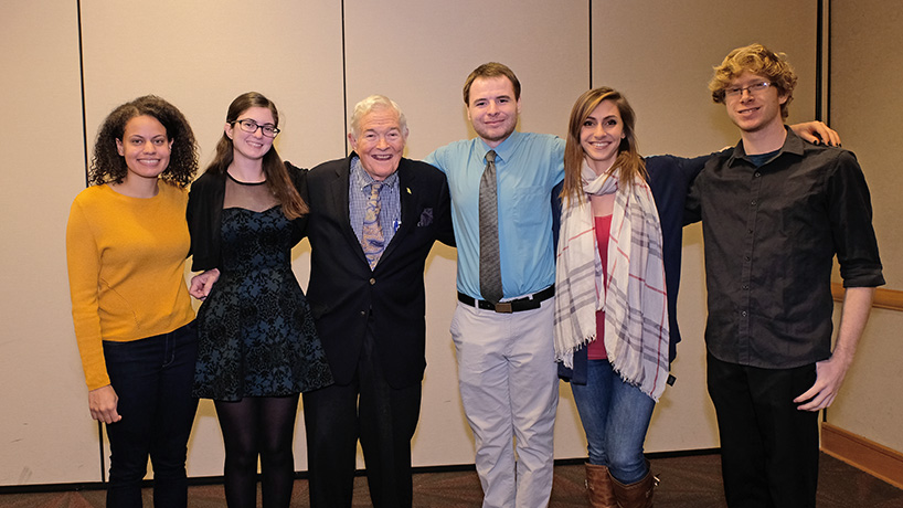 UMSL selects first class of Bond International Scholars