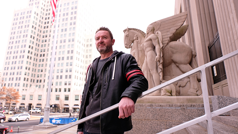 Jeffrey Pryor hopes to become a voice for America's fallen overseas