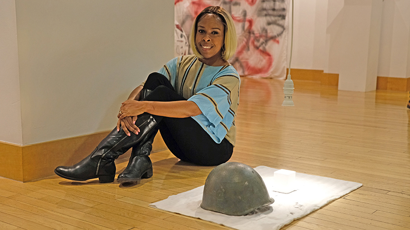 Students experiment with politics, media in 'Role as Citizen' exhibition