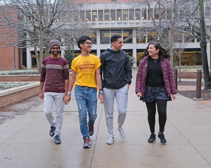 Global UGRAD students