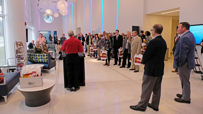 Freshman legislators visit UMSL on statewide tour