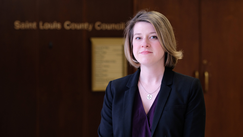Social work alumna takes seat on St. Louis County Council
