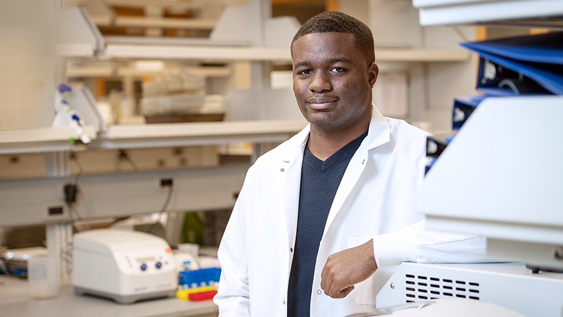 A young chemist setting a new path for his family legacy