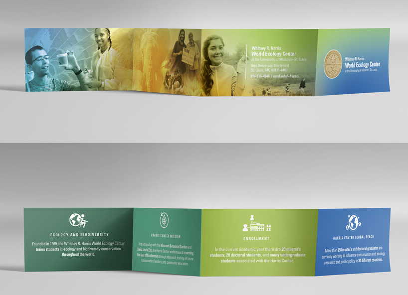 Whitney R. Harris World Ecology center brochure