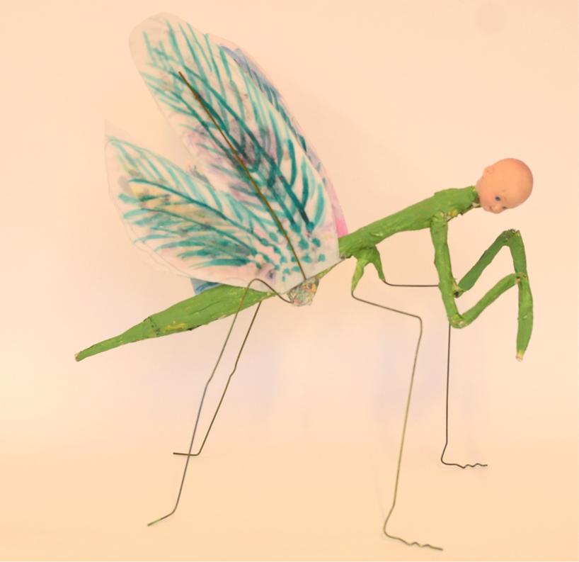 """Baby Sun Mantis"""