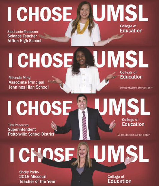 College of Education billboards