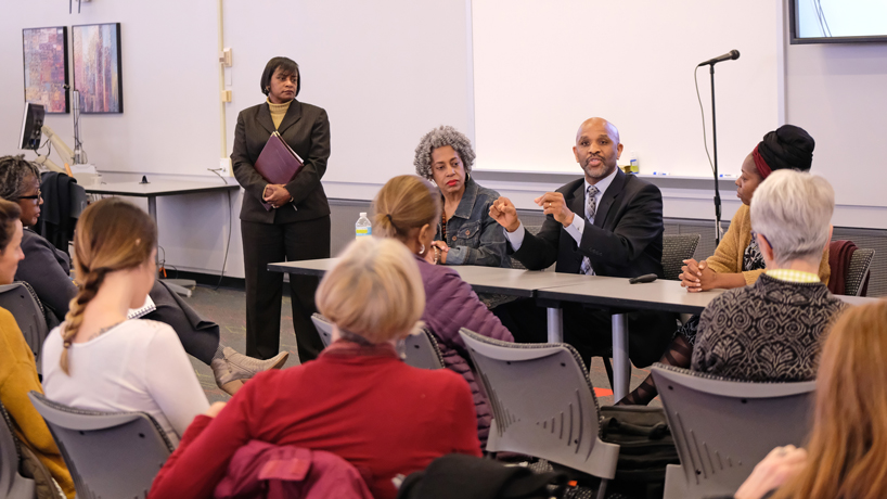 Panel discussion showcases innovative research from African American faculty members at UMSL