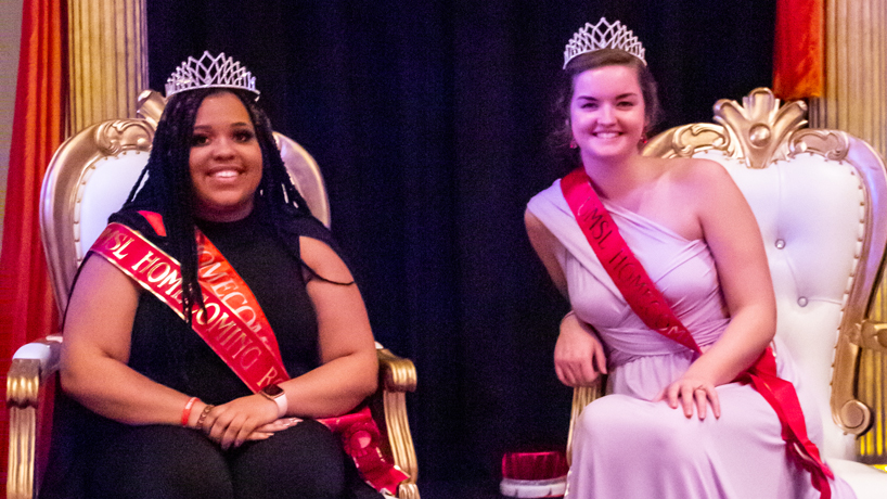 Meet homecoming royalty Sydni Jackson and Amanda Vollmer