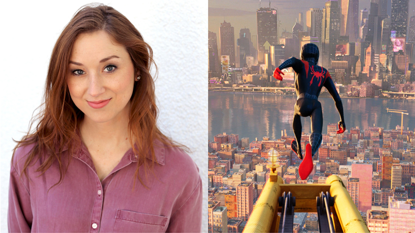 Alumna's editing work hits the big time in 'Spider-Man: Into the Spider-Verse'