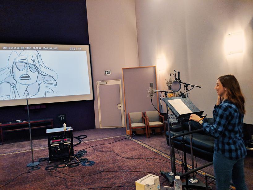 Sarah Cole – recording studio