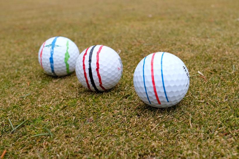 Triple Track golf balls