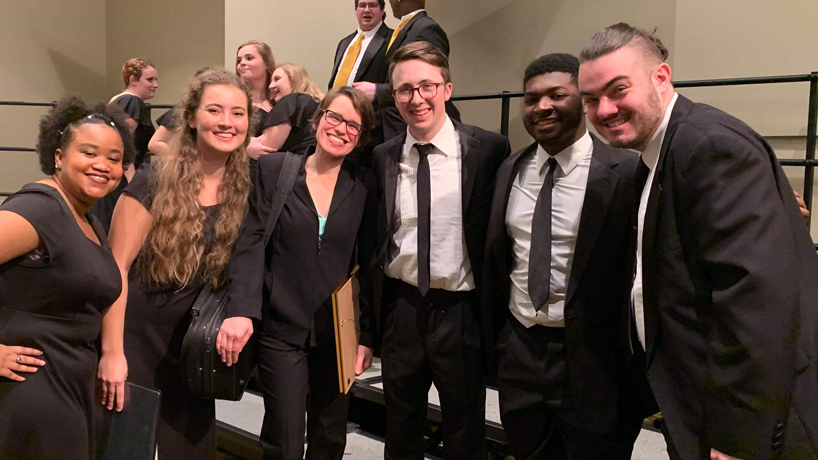 UMSL students perform with all-collegiate choir at MMEA annual conference