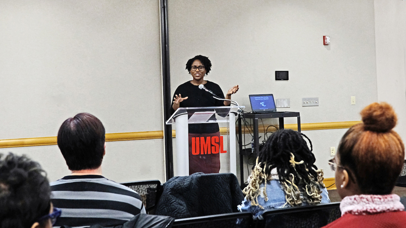 Marcia Chatelain spotlights young women's experiences in the Great Migration during Black History Month keynote