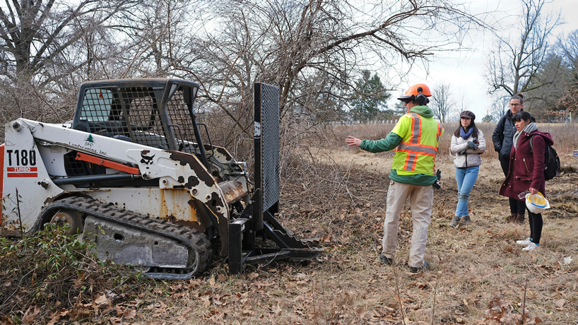 Grounds department working to restore UMSL's natural areas with Missouri Department of Conservation grant