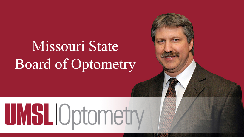 College of Optometry alumnus appointed to state board