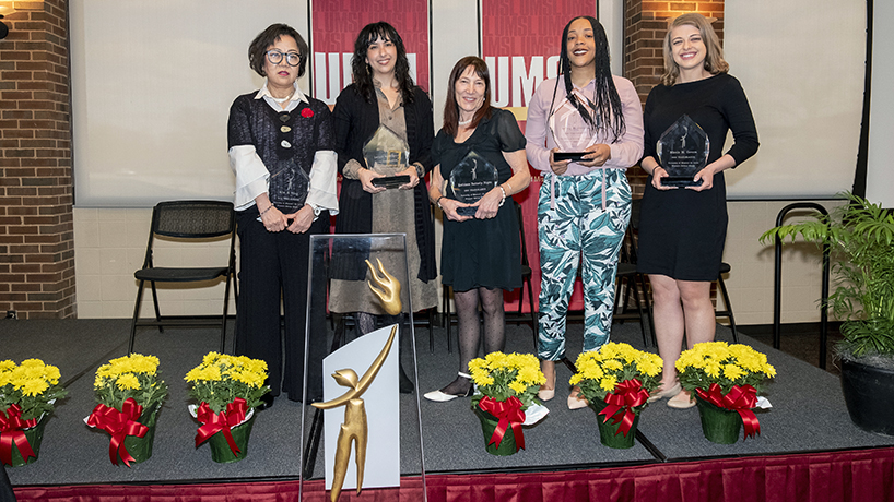 Powerful words from the 5 UMSL Trailblazers of 2019