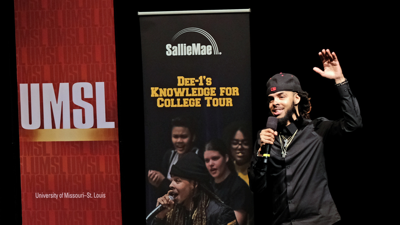 'Triton F.L.Y. Week' promotes financial literacy among students with help from hip-hop artist Dee-1