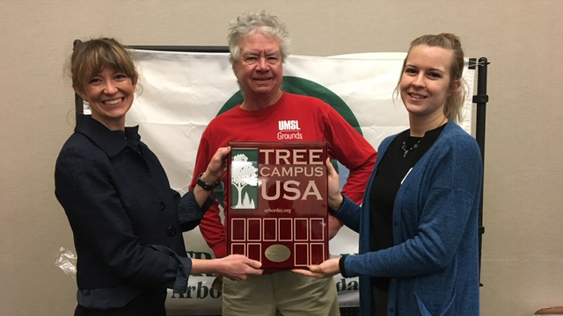 Arbor Day Foundation recognizes UMSL as a Tree Campus