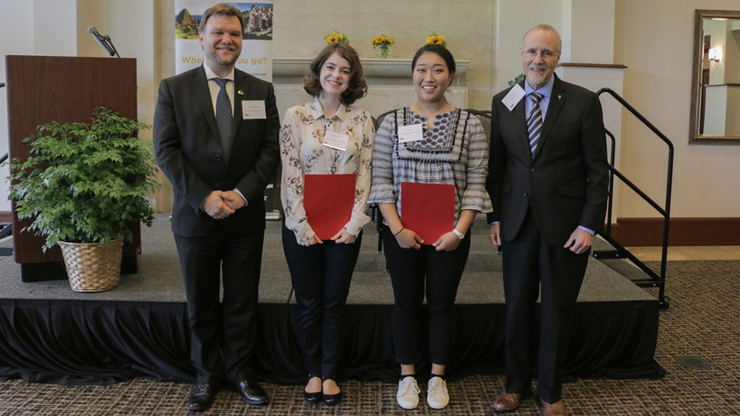 Trio of UMSL students earn Bond International Scholars Awards for study abroad programs