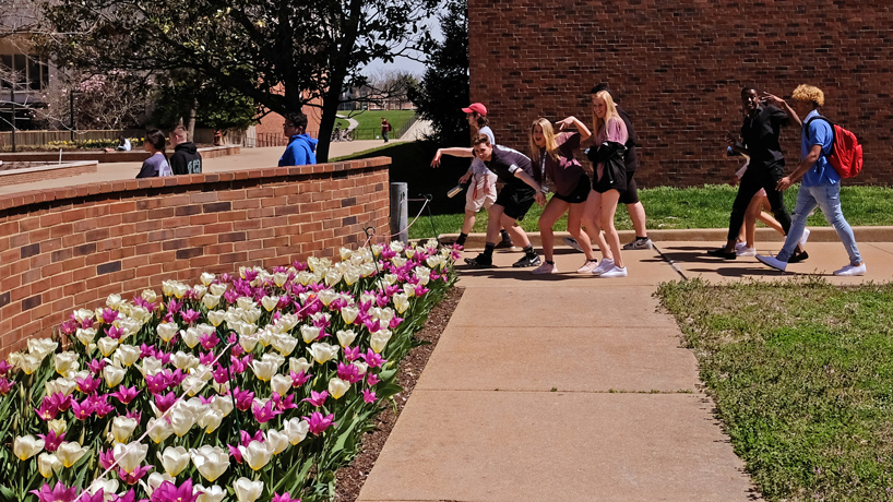 Eye on UMSL: Budding students