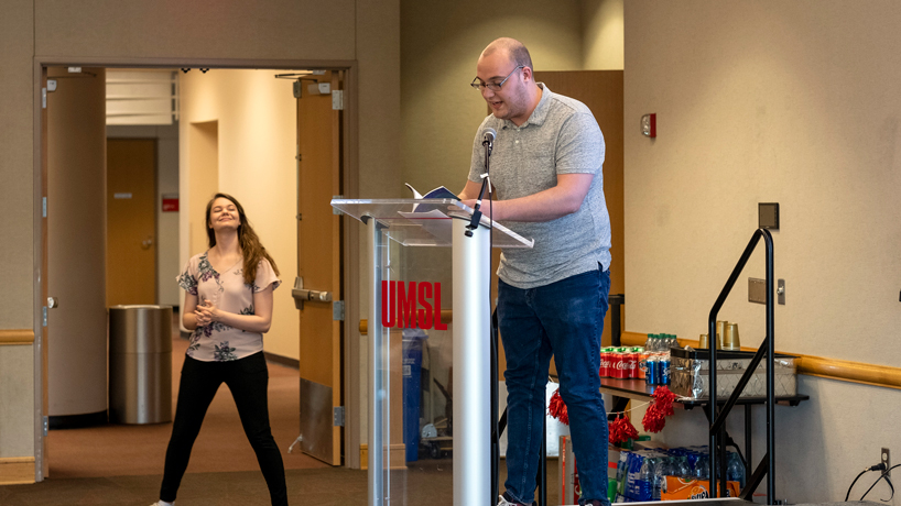 Litmag gives UMSL community a chance to shine in its pages, behind the scenes