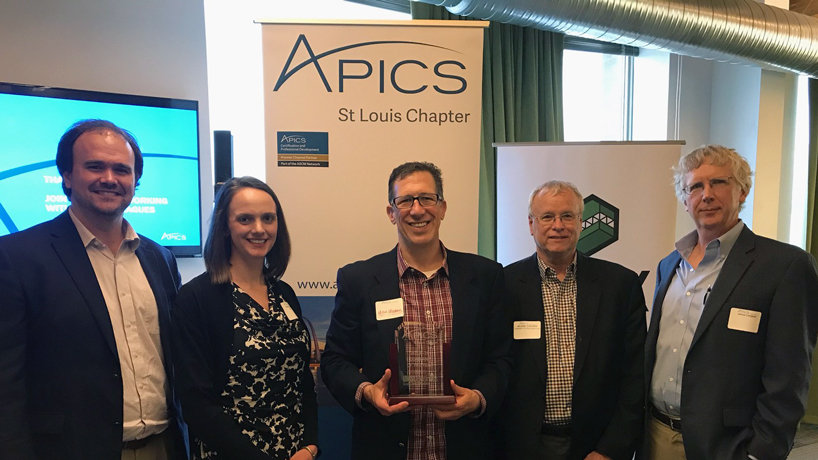 Department of Supply Chain and Analytics receives local recognition, national grant from global industry leader
