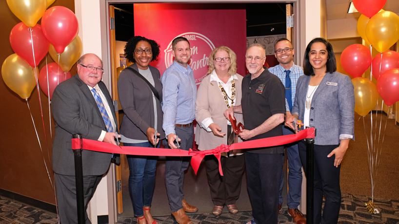 UMSL dedicates Triton Pantry as it continues to serve students facing food insecurity