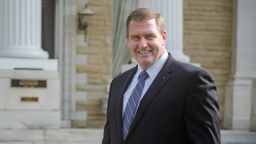 Alumnus rises from UMSL Greek life to lead Sigma Pi Fraternity