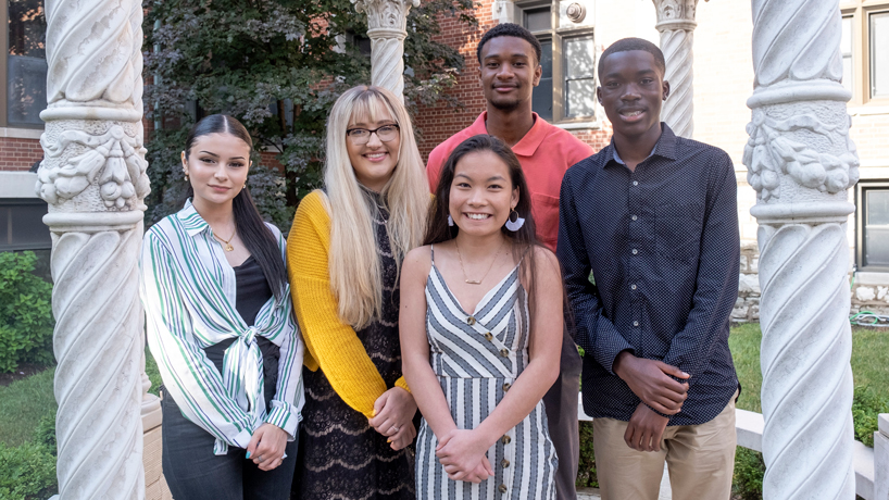 Pierre Laclede Honors College welcomes newest cohort of Opportunity Scholars