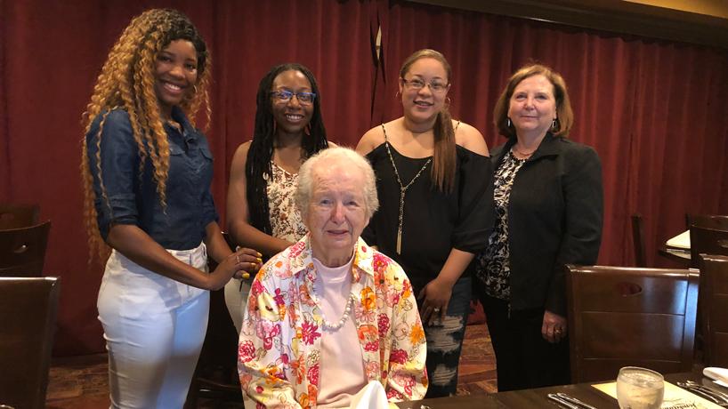 Shirley A. Martin scholarship and award honorees