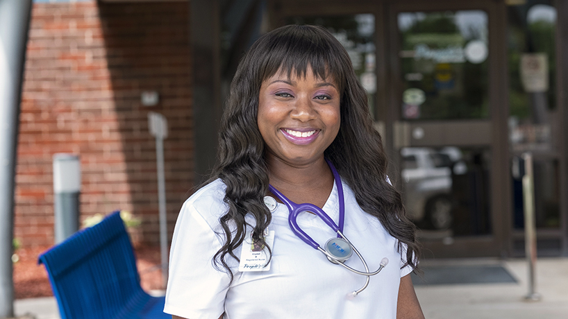 National Black Nurses Association honors UMSL alumna with 40 and Under Award