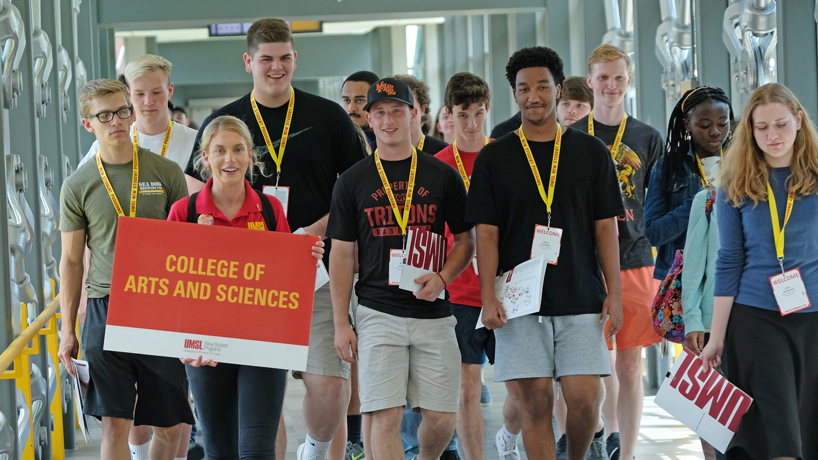 They chose UMSL: Scenes from New Student Orientation
