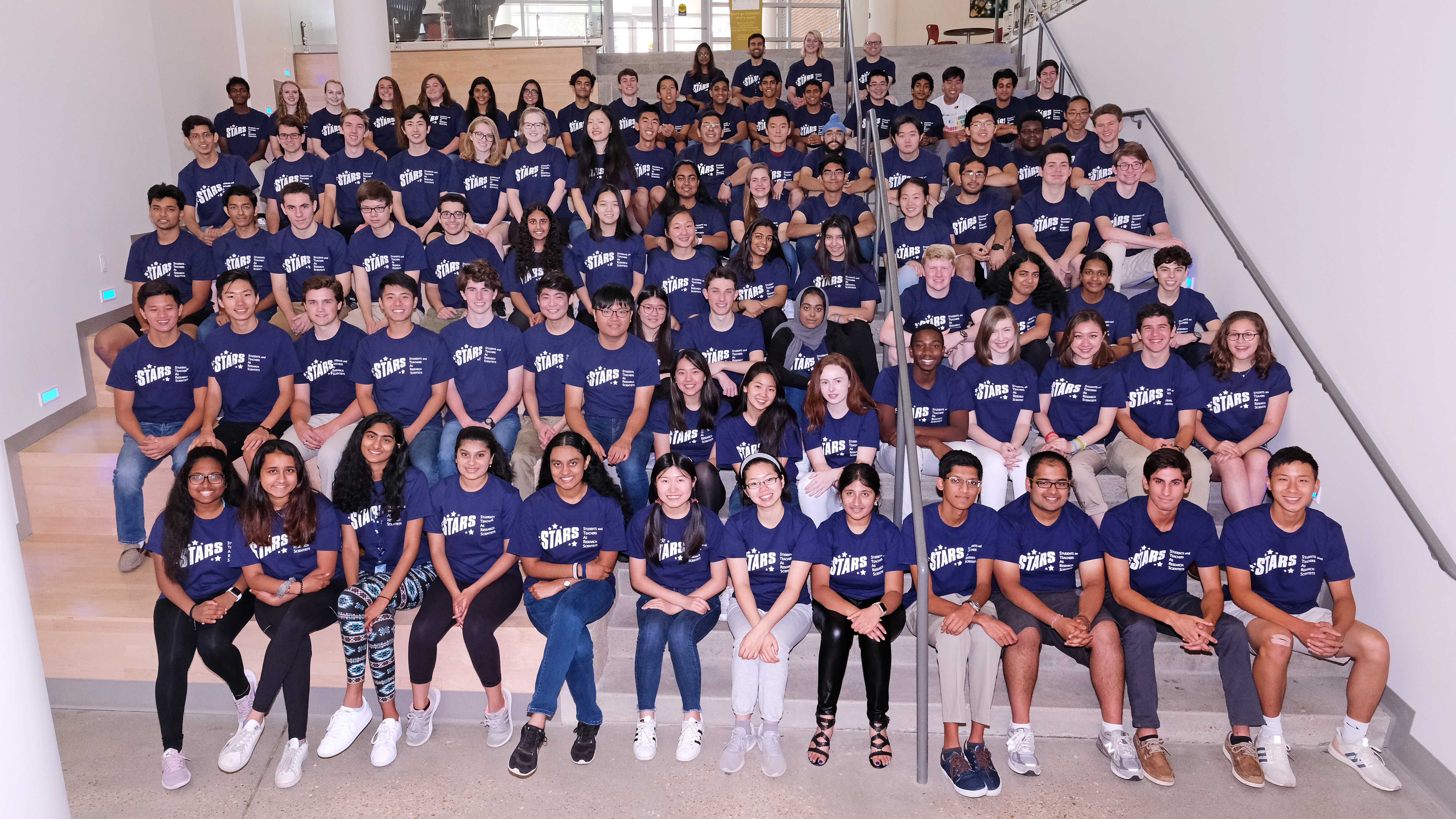 Confirmed stars: 88 standout high schoolers complete Students and Teachers as Research Scientists program