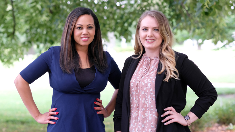 Alumnae Gabrielle Clay, Nesmira Muratovic among Business Journal's 30 under 30 honorees