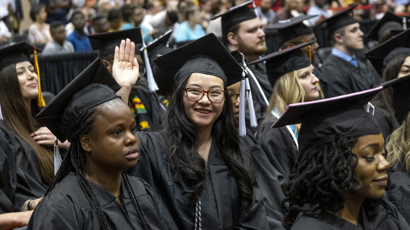 Ladue News prominently features UMSL's Finish Your Degree Scholarship