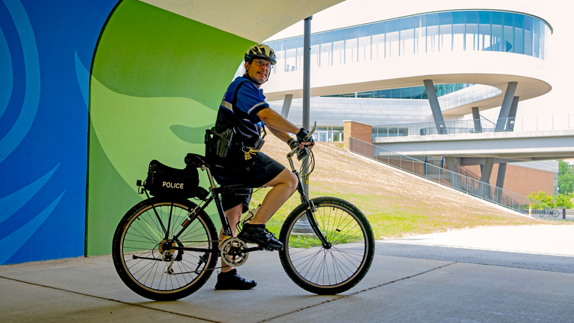 A 25-year ride: Lieutenant Tom McEwen leads with compassion as UMSL Police Department's longest-serving member