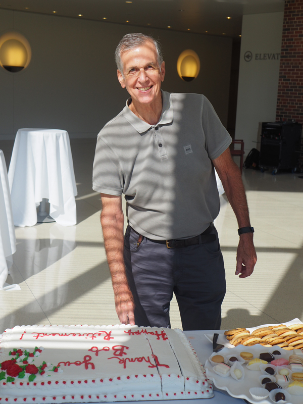 Ricklefs retirement reception