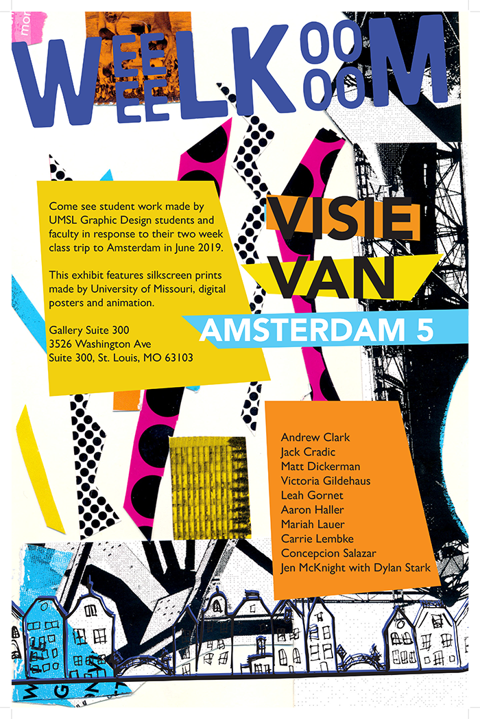 Visie Van Amsterdam 5 Poster