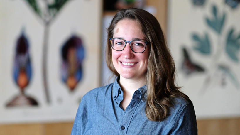 Doctoral candidate Emma Young aims to communicate science to the public